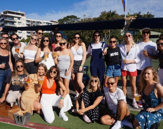 Gold Coast Barefoot Bowls Party